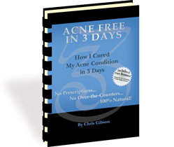 Acne Free In 3 Days natural skin treatment