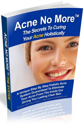 Acne No More natural cure for pimples