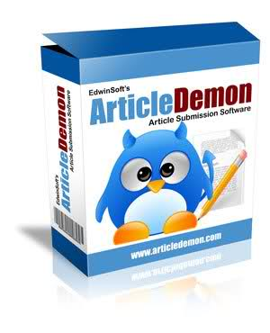 Article Demon article marketing software