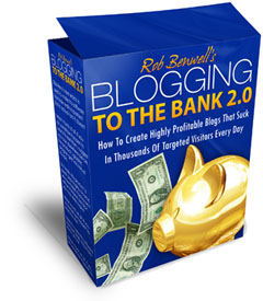 Blogging To The Bank online marketing guide