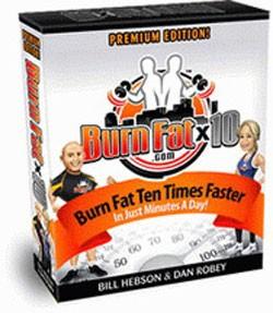 Burn Fat X 10 weight loss plan