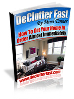 Declutter Fast cleaning and organization tips