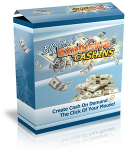 Explosive Cashins email marketing software