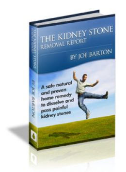 Kidney Stone Removal Report natural treatment and remedies