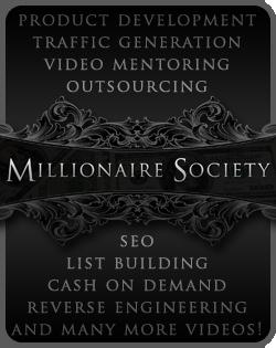 Millionaire Society domain flipping system