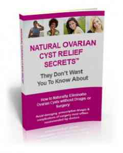 Natural Ovarian Cyst Relief Secrets permanent cure