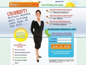 Real Writing Jobs online freelance