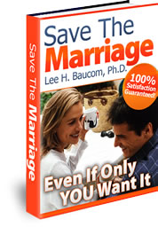 Save The Marriage divorce prevention book