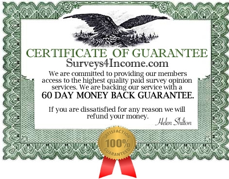 Surveys4Income make money online