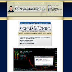 The Signals Machine Forex EA trading system