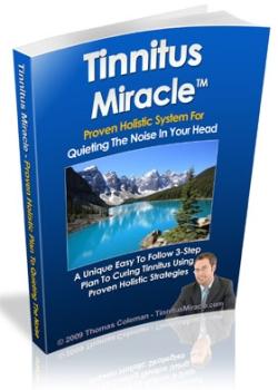 Tinnitus Miracle treatment book
